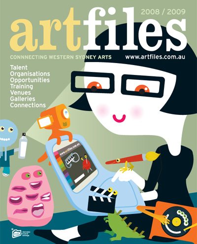 Artfiles 2008 cover